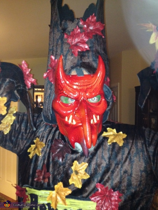 Devil Tree Homemade Costume