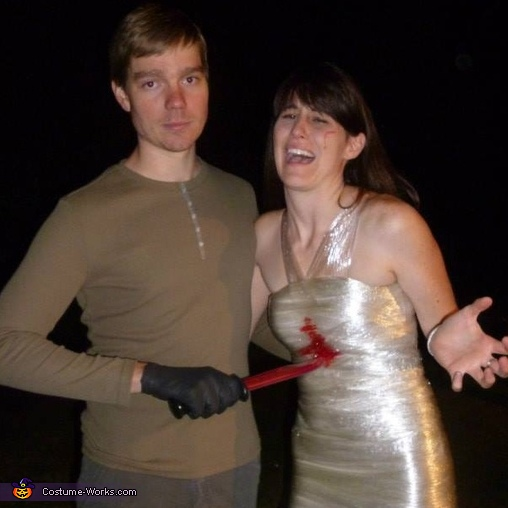 family picture black outfit ideas - Dexter and his Kill Halloween Costume