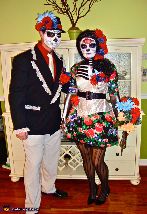 Day of the Dead Costumes! - Homemade costumes for couples