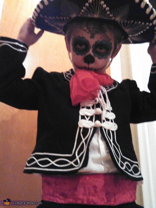 Dia de Los Muertos, Dia de Los Muertos Day of the Dead Costume