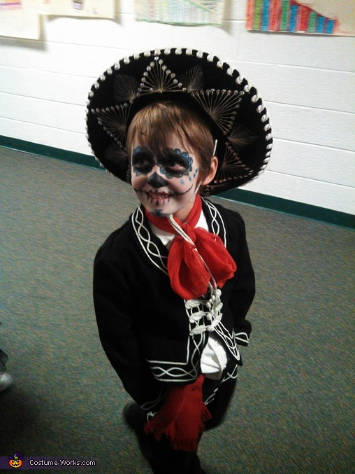 Dia de Los Muertos Day of the Dead Costume
