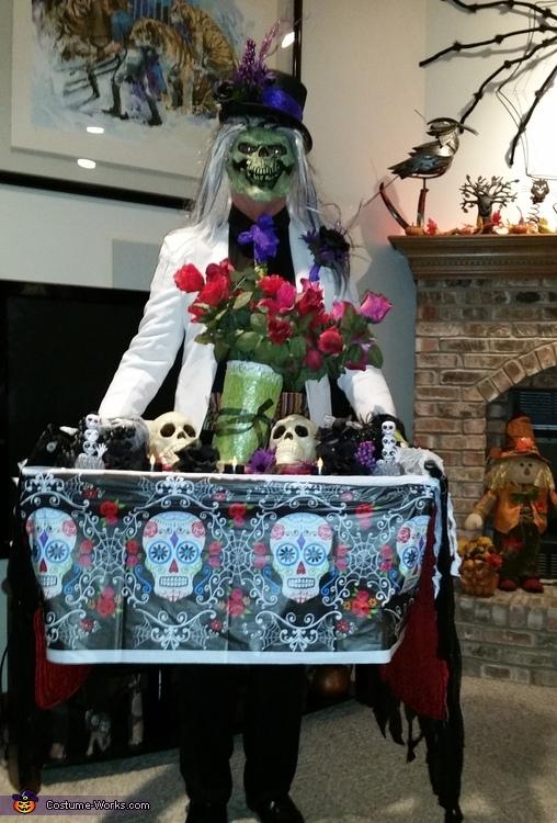 Dia de los Muertos Adult DIY Costume Funny Adults Cartoon Image