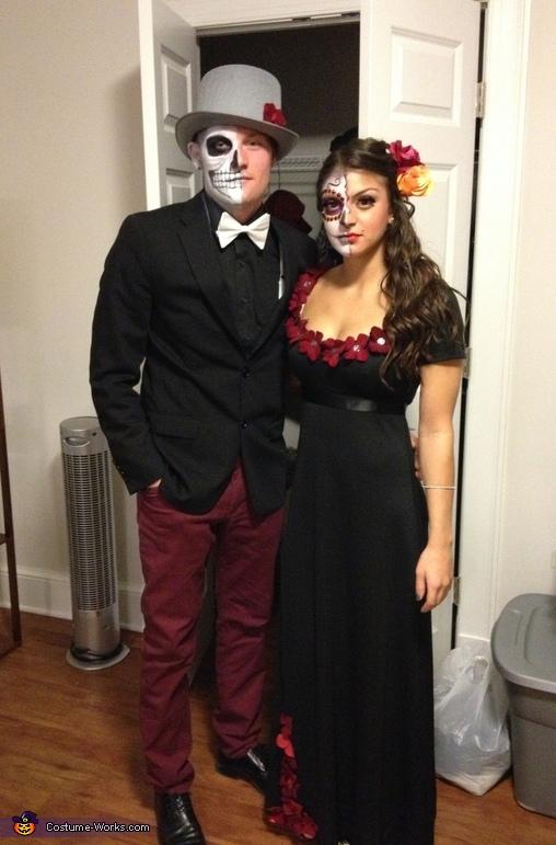 Dia de Los Muertos Couple Costume