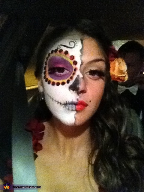 My Makeup! , Dia de Los Muertos Couple Costume