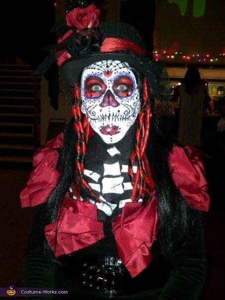 My Dia De Los Muertos Halloween costume