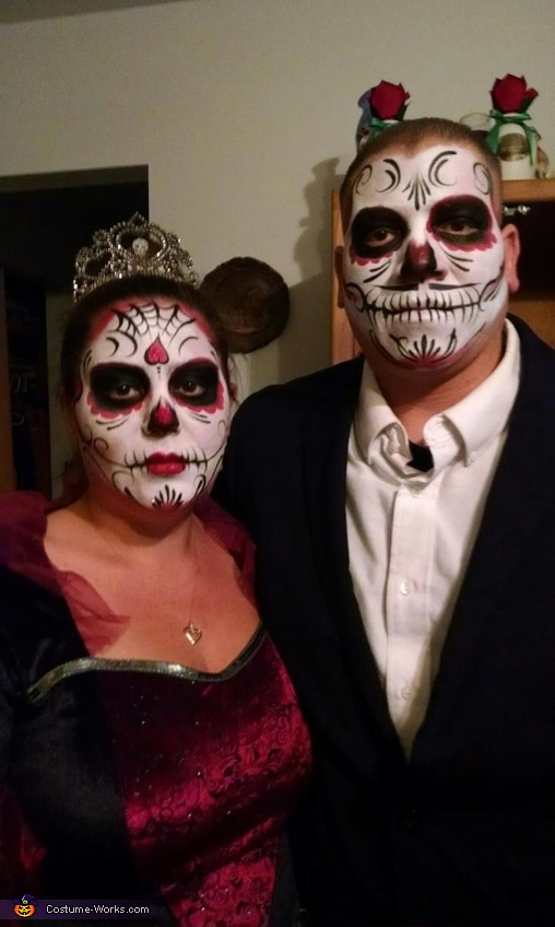 Dia de los Muertos Bride and Groom Costume
