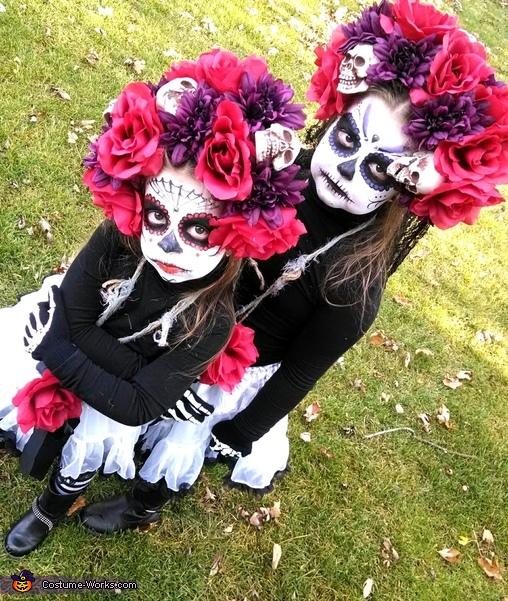 Dia de los Muertos Chicas Costume