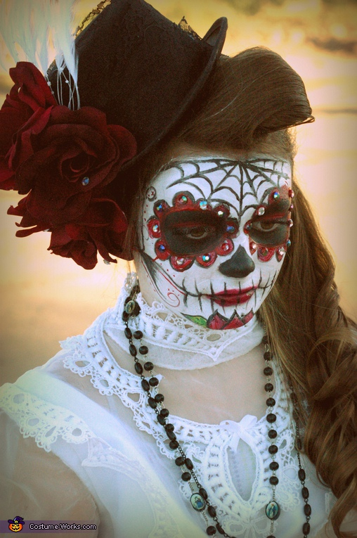 Dia de los Muertos Day of the Dead Girl Costume