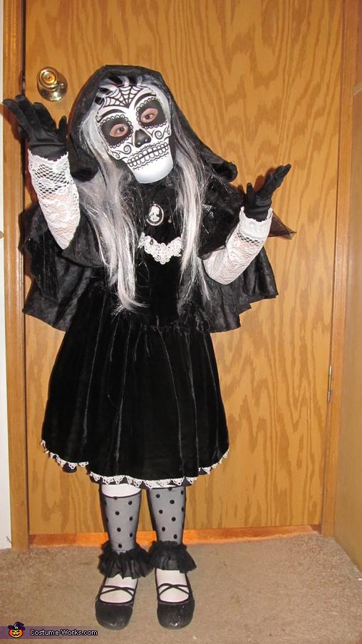 Dia de los Muertos Skeleton Princess Costume