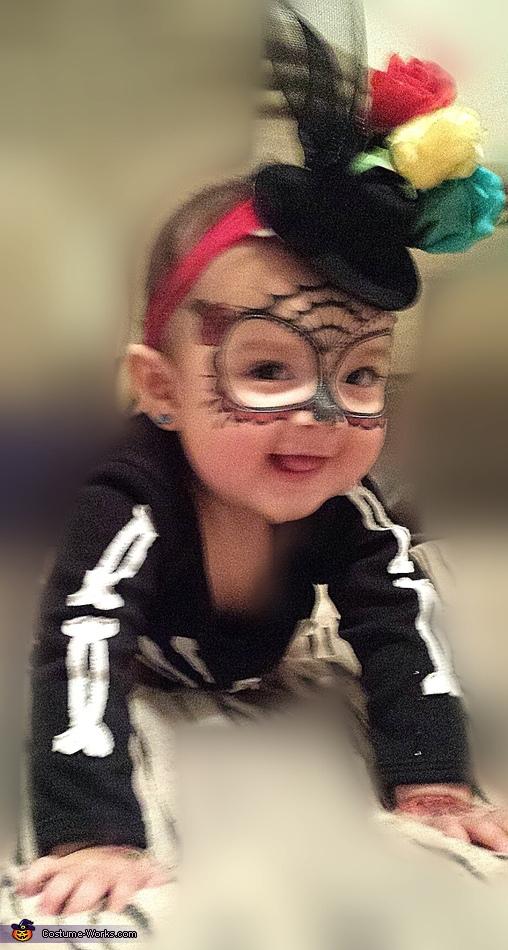 Baby Averie Sugar Skull, Dia de los Muertos Sugar Skulls Costume