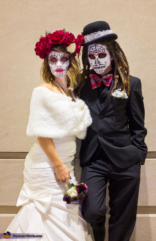 Dia de los Muertos Wedding Night Costume