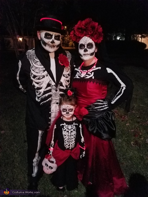 Dia del Morte Day of the Dead Costume