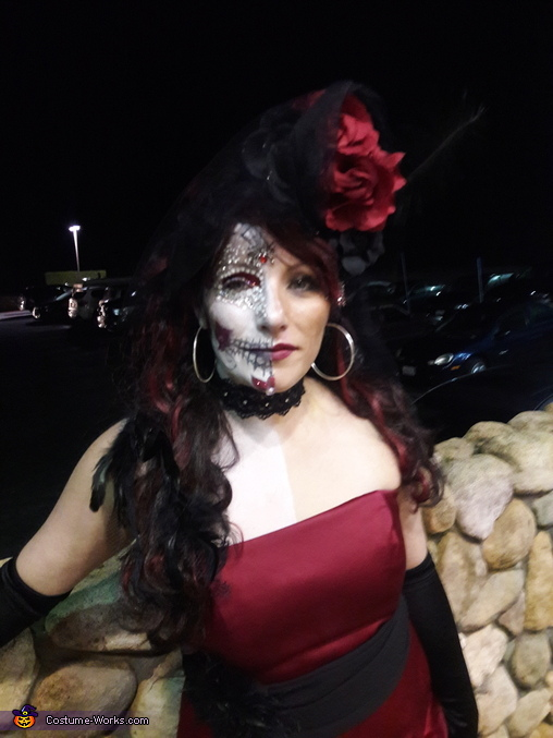 Diamond Sugar Skull Queen Costume