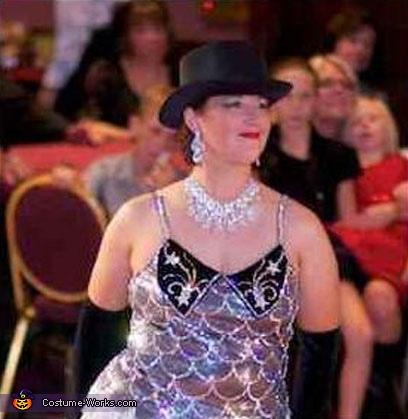 Moulin Rouge Diamonds Costume