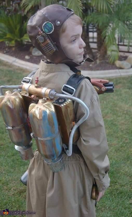 Dieselpunk Rocketeer Time Traveler Costume