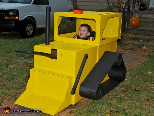 Digger Homemade Costume