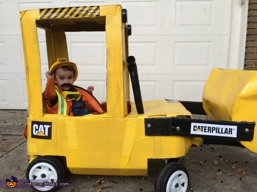 Digger Man Homemade Costume