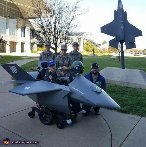 Dillon's F-35 Costume