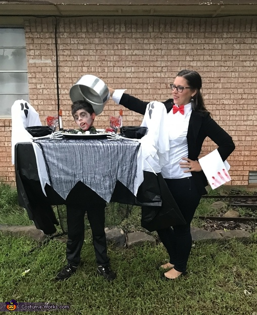 Dinner is served Homemade Costume