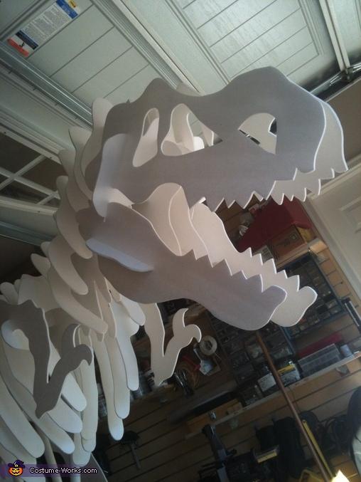 Dino the T-Rex Homemade Costume