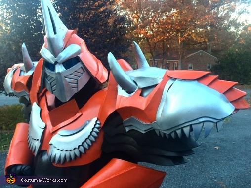 Dinobot Grimlock Transformer Costume