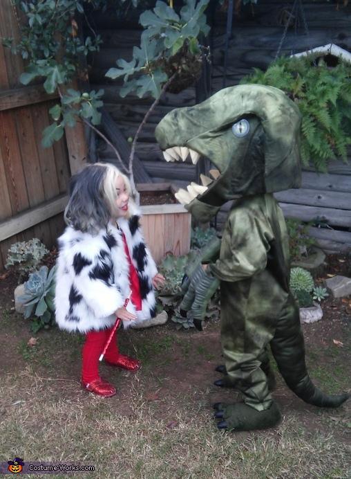 Dinosaur Homemade Costume