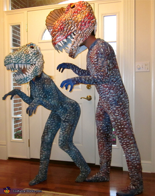 Dinosaur Couples Costume