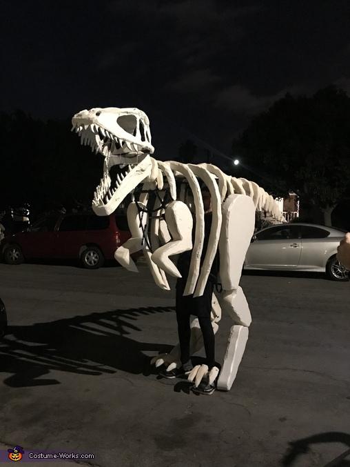 Dinosaur Fossil Homemade Costume