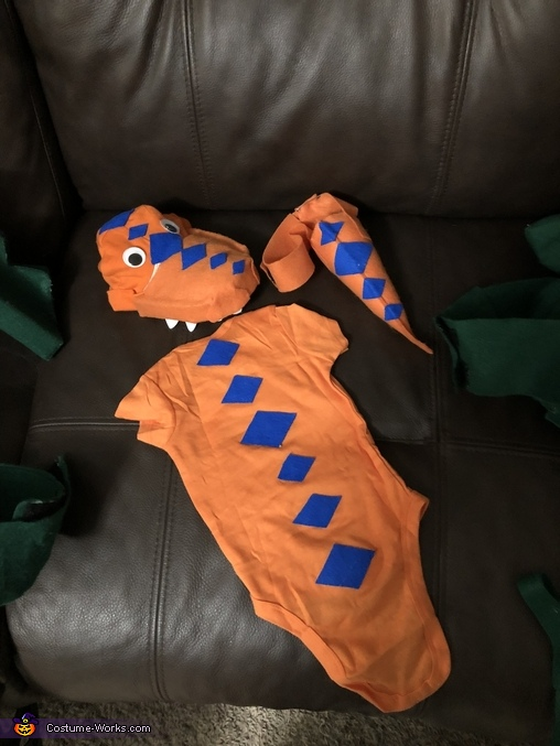 Buddy Costume parts, Dinosaur Train Characters Costume