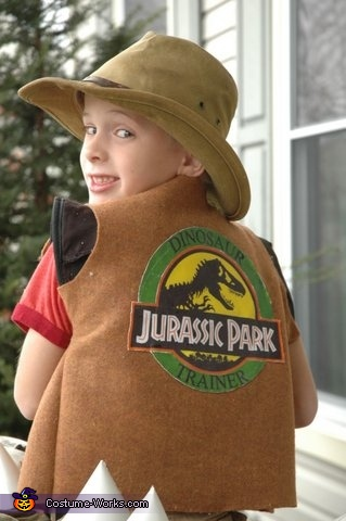 The vest, Dinosaur Trainer Costume