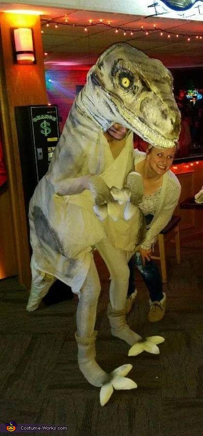 Dinosaurs Homemade Costume