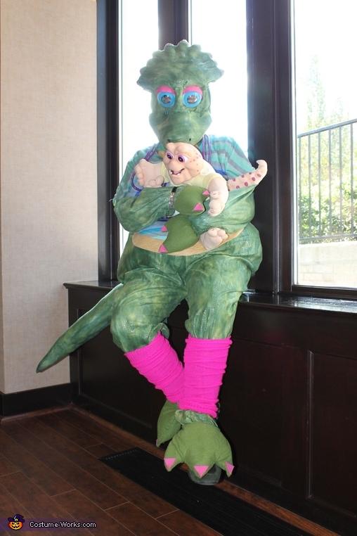 Dinosaurs Charlene Sinclair Homemade Costume