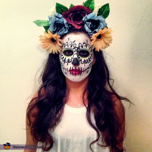 Dios de Los Muertos - Homemade costumes for women