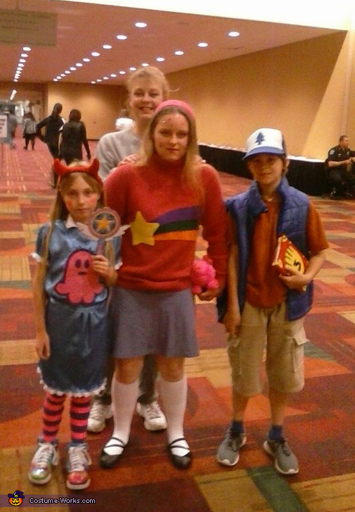 Dipper Pines, Mabel Pines and Star Butterfly Costume