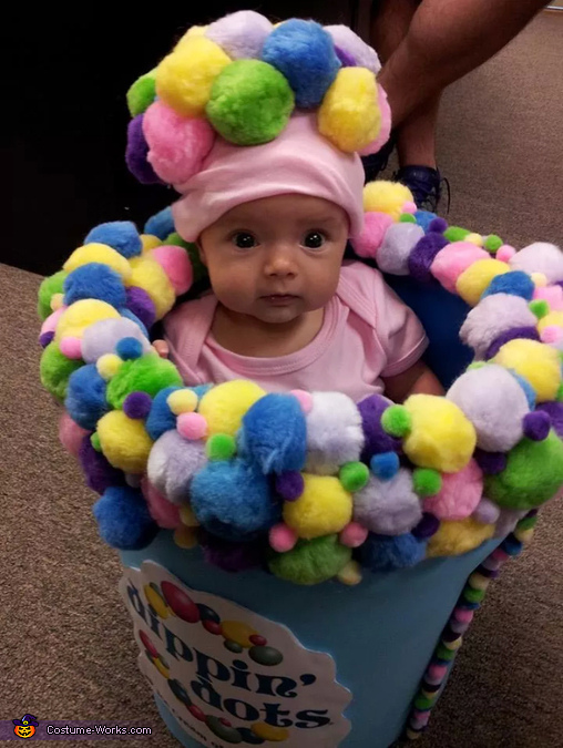 Dippin' Dots Baby Costume