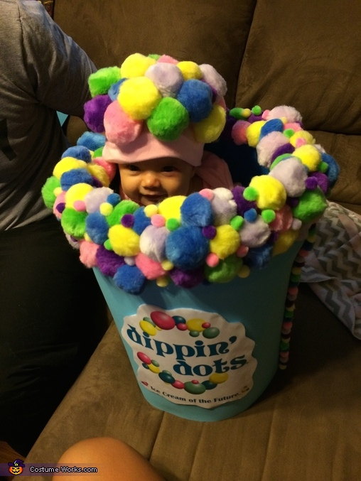 Dippin' Dots Homemade Costume