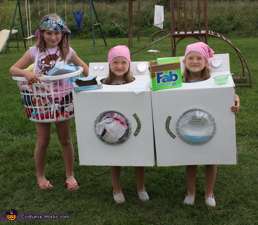 Dirty Clothes Dryer And Washing Machine Costumes
