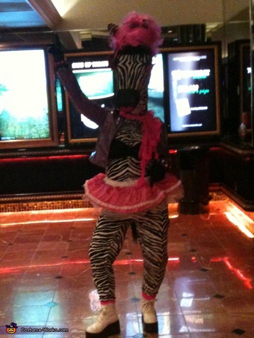 disco zebra, Disco Zebra Costume