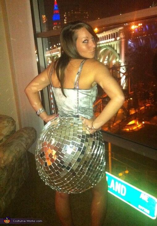 Fun Disco Ball Costume!