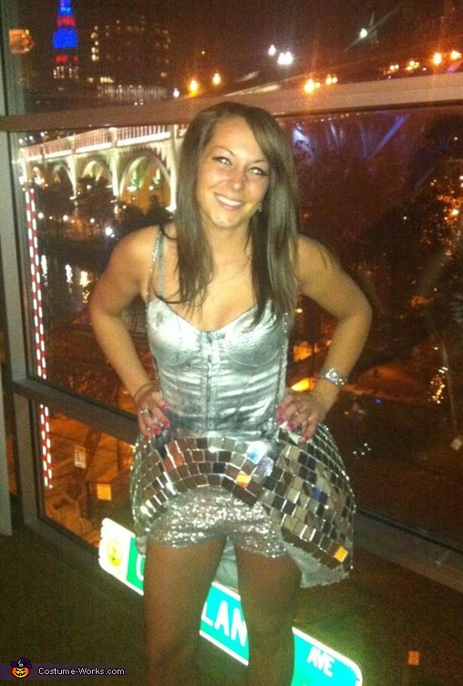 Disco Ball Halloween Costume