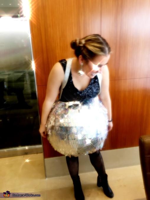Disco Ball Homemade Costume