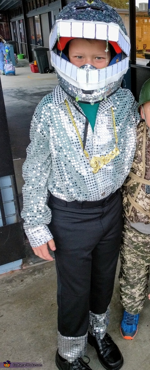 Disco Chomper Homemade Costume