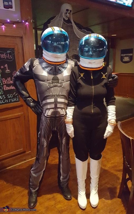 Disco Space Suit Costume