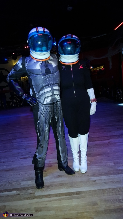Disco Space Suit Homemade Costume