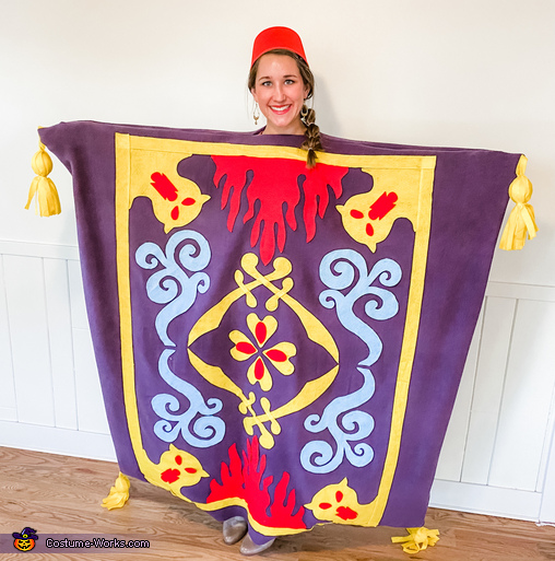 Magic Carpet, Disney Aladdin Costume