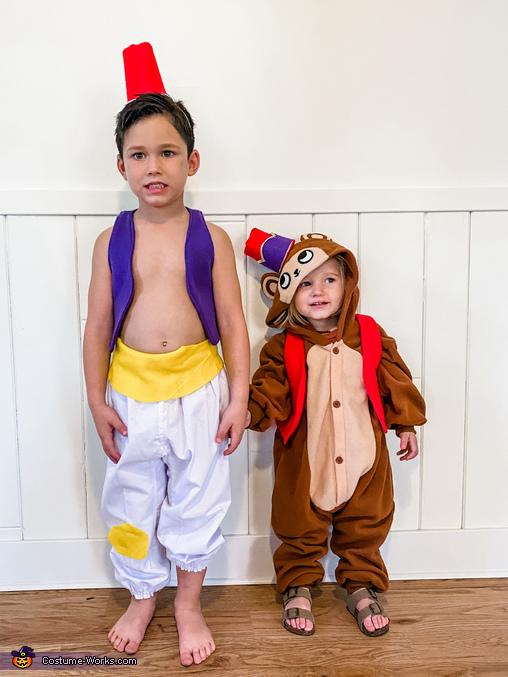Aladdin & Abu, Disney Aladdin Costume