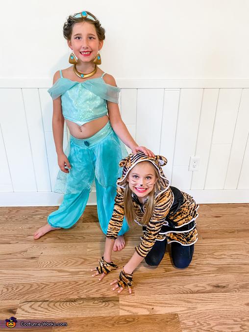 Jasmine & Raja, Disney Aladdin Costume