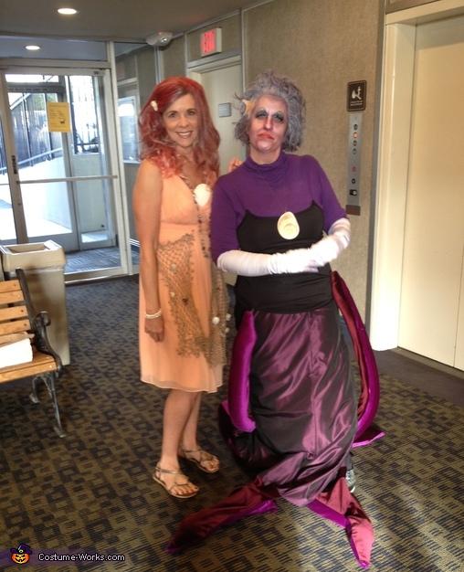ARIEL & URSALA, Disney Characters Costume