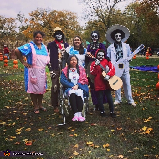 Disney Coco Family Homemade Costume