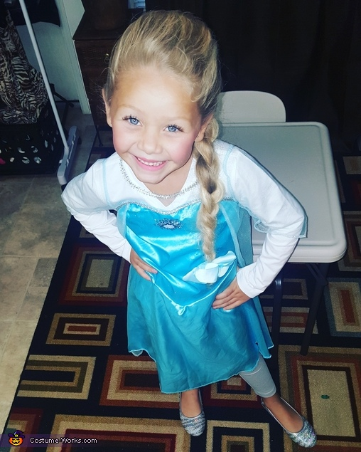 Disney Frozen Princess Elsa Costume
